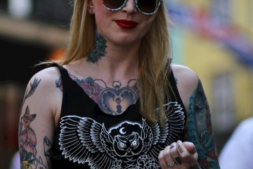 On the Street…More Tattoos