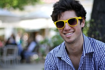 On the Street…Yellow Sunglasses