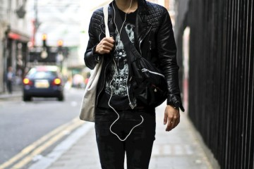 LCM – Black Leather Jacket