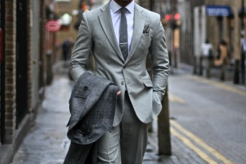 On the Street…David Gandy