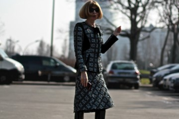 On the Street…Anna Wintour