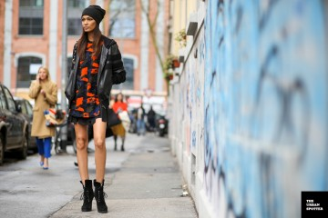 On the Street…..Joan Smalls